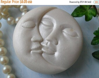 SALE 30% OFF Sweet Embrace Handcrafted Sun and Moon Soap