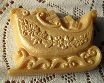 Golden Sled Handcrafted Soap