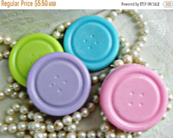 SALE 30% OFF Button Stack Handcrafted Soap