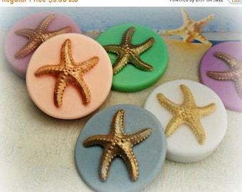 SALE 30% OFF Golden Starfish Soap