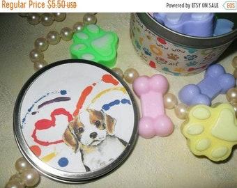 SALE 30% OFF Cat Paw Print Guest Soap Dog Paw Print Guest Soap