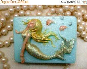 SALE 30% OFF Sea Goddess Mermaid Soap