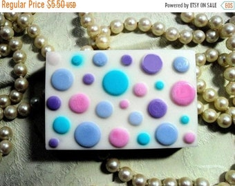 SALE 30% OFF Polka Dot Soap  Buttermilk Soap
