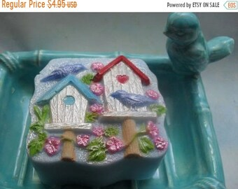 SALE 30% OFF Summer Rental Bird House soap