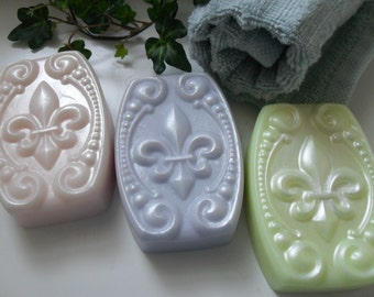 Provence Afternoon Handcrafted  Soap Gift Set with Goat Milk