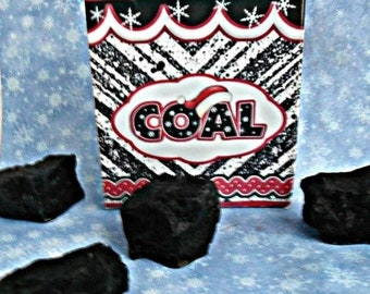 SALE 30% OFF Sack of Coal Handcrafted Soap