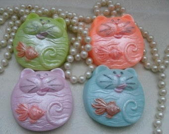 Funny Cat Soap Cat and fish soap Hungry Henry Cat Soap