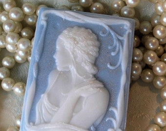 SALE 30% OFF Handcrafted Cameo Soap Sophie