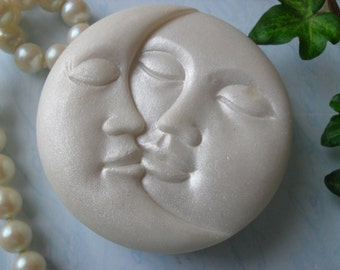 Sweet Embrace Handcrafted Sun and Moon Soap