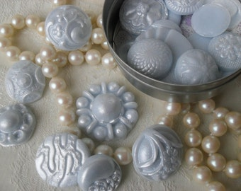 Handcrafted Guest Soap Fancy Buttons
