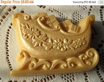 SALE 30% OFF Golden Sled Handcrafted Soap