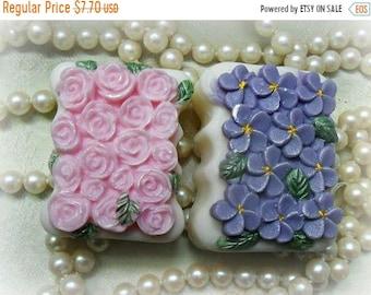 SALE 30% OFF Violets and Roses Gift Set