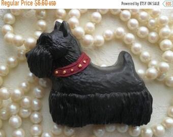 SALE 30% OFF Scottie Dog Black Charcoal Soap