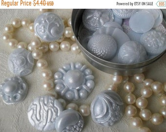 SALE 30% OFF Handcrafted Guest Soap Fancy Buttons