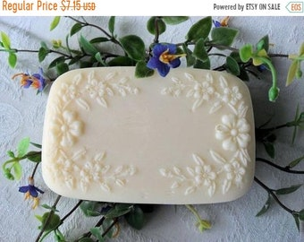 SALE 30% OFF Handcrafted Rain Orchid  Aloe Soap