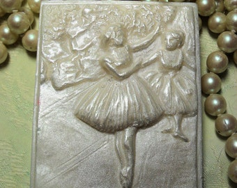 Degas Dancers Cameo Soap Handcrafted Soap