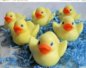 SALE 30% OFF Handcrafted Soap Rubber Duckie Soap