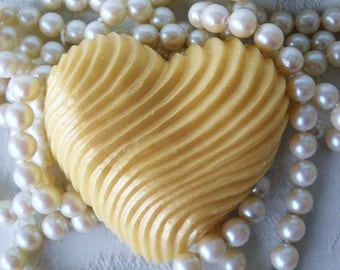 Heart of Gold Handcrafted  Honey Soap