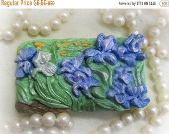 SALE 30% OFF Vincent's Irises Handcrafted Soap