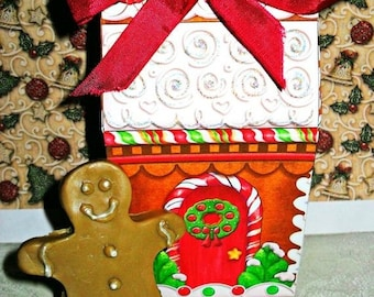 SALE 30% OFF Gingerbread Man Soap Handcrafted