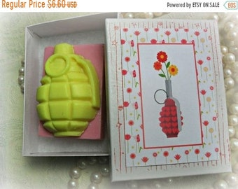 SALE 30% OFF F Is for Flowerbomb Soap F Bomb Soap Grenade Soap