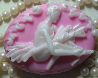 Ballet Dancer Cameo Hand Crafted Soap