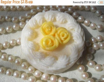 SALE 30% OFF Handcrafted Soap Rose Gateau