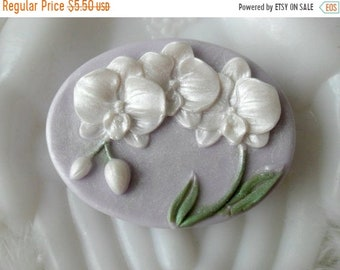 SALE 30% OFF Orchid Goddess Aloe and Honey Handcrafted Soap