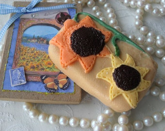 Sunflowers Handcrafted Soap