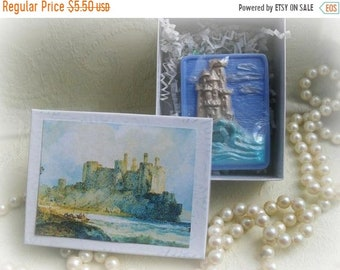 SALE 30% OFF Castle by the Sea Soap