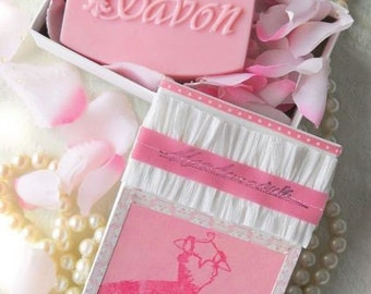 Mademoiselle  Handcrafted Soap and Gift Box