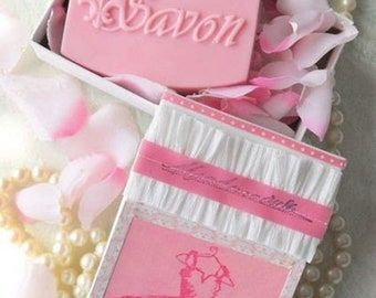 SALE 30% OFF Mademoiselle  Handcrafted Soap and Gift Box