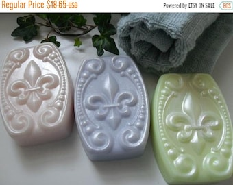 SALE 30% OFF Provence Afternoon Handcrafted  Soap Gift Set with Goat Milk