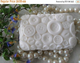 SALE 30% OFF Button Soap Handcrafted Soap