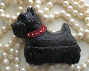 Scottie Dog Black Charcoal Soap