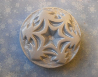 Snowflake Handcrafted Soap