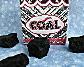 Sack of Coal Handcrafted Soap
