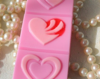 Happy Heart Handcrafted Soap Pink Soap