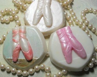 Ballet Slippers Hand Ccrafted Soap