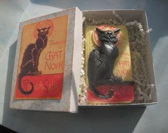 Chat Noir Black Cat Soap