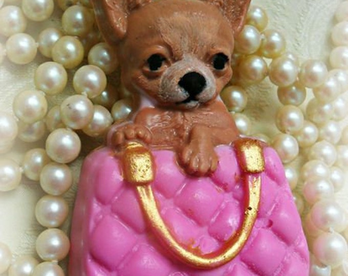 Featured listing image: Bruiser Handcrafted Soap Chihuahua Soap Pet Soap