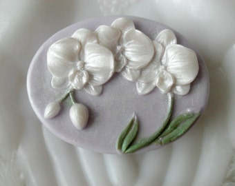 Orchid Goddess Aloe and Honey Handcrafted Soap