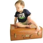 Vintage Luggage - Samsonite Suitcase- Travel Accessory