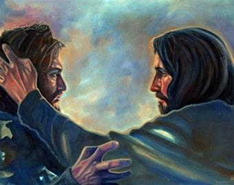 "Jesus showing ""Amazing Grace"""