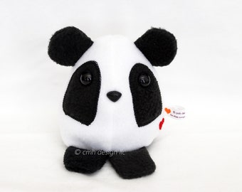 CLEARANCE SALE Panda Bear - Whee One - Stuffed Animal - Bear Stuffed Toy In Stock and Ready to Ship