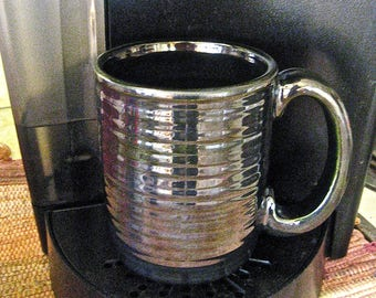 medium mug, mirror glaze