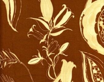 1 yd. night sky, cocoa (tina givens, treetop fancy)
