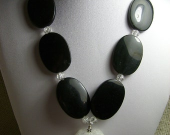 CLEARANCE Opposites Attract Chunky Necklace