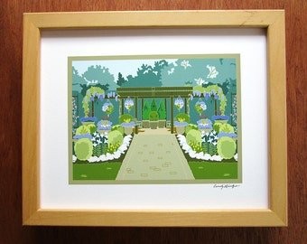 Olbrich Gardens, Madison,WI, art print