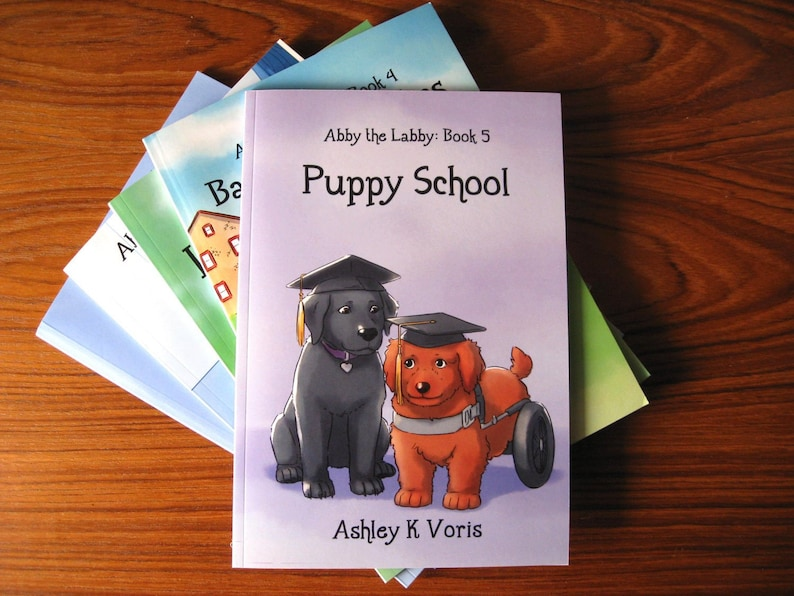 Abby the Labby: Book 5  Puppy School image 0